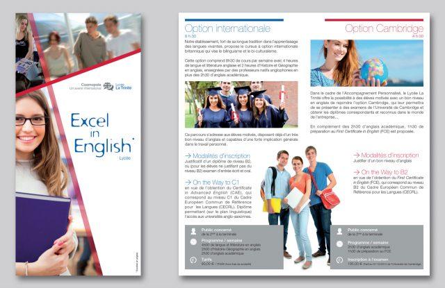 Leaflet lycée